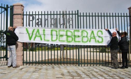 El parque de Valdebebas recupera su nombre