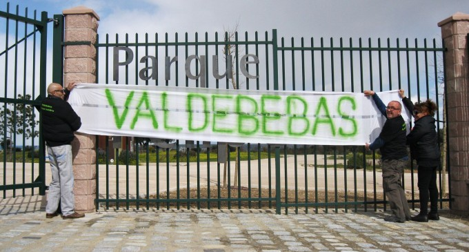 El parque de Valdebebas retirará a Felipe VI
