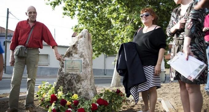 Las Cárcavas recuerda a su vecino Ricardo Arias