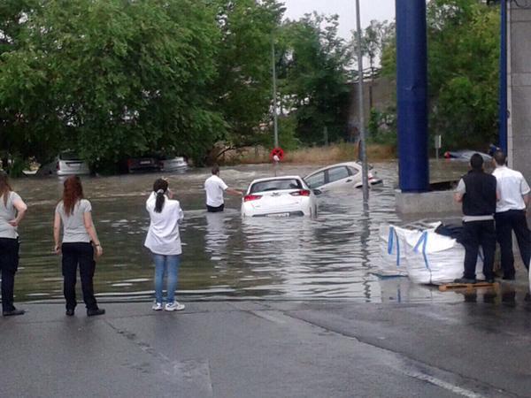 Inundación Hipercor