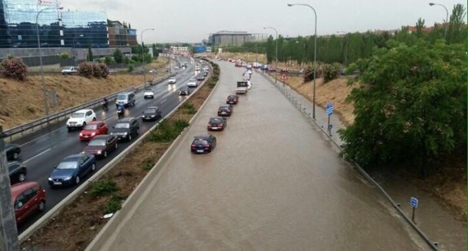 Inundación histórica en Hortaleza