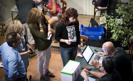 Cuatro mujeres a las primarias de Ahora Madrid