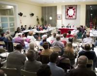 El nuevo horario abarrota el Pleno de Hortaleza