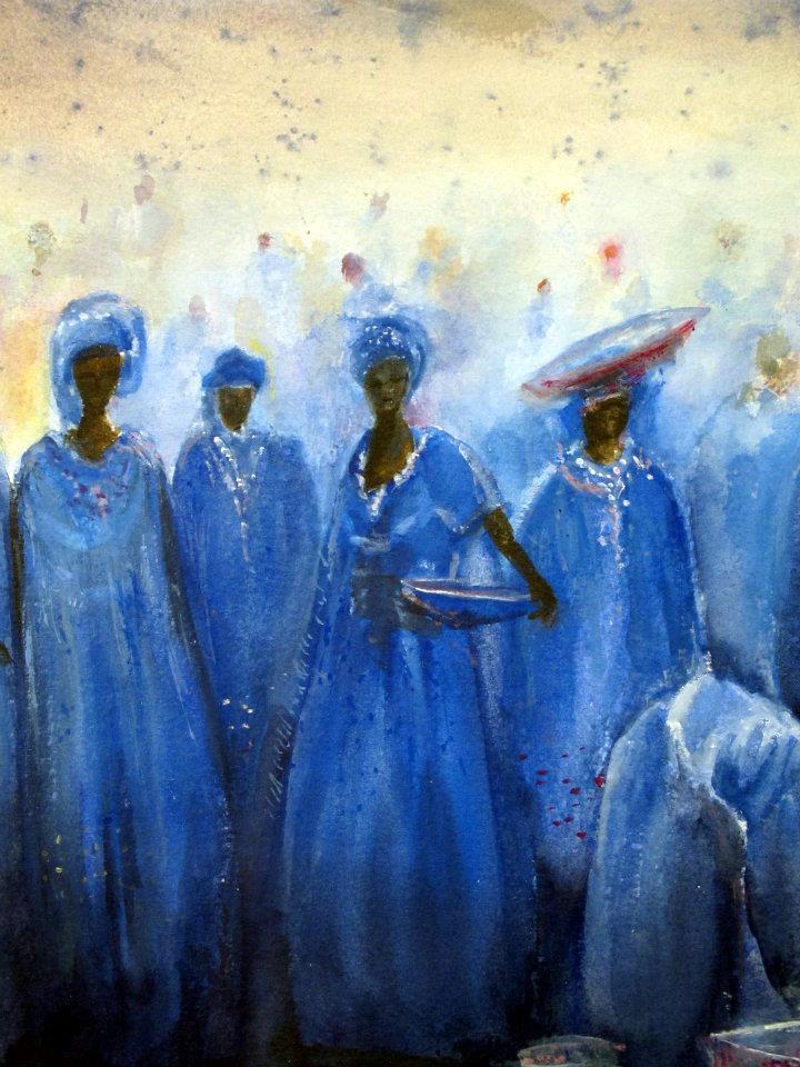 'Mercado africano', de Jose María Balboa