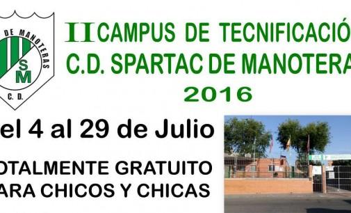 Campus gratuito del Spartac de Manoteras