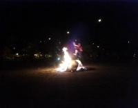 Hortaleza tuvo noche de San Juan con hoguera
