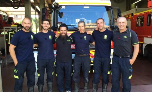 Los bomberos piden ayuda para Grecia