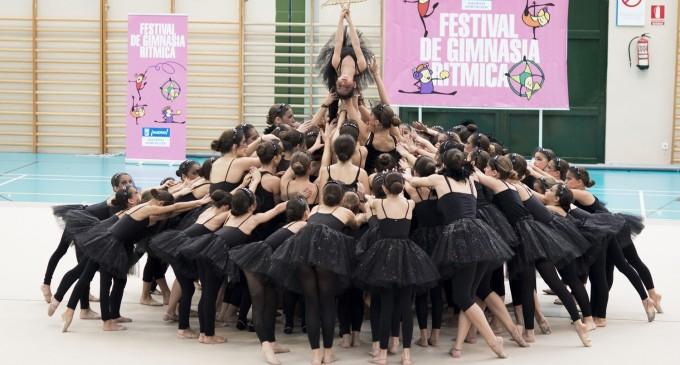 Un festival de gimnasia multitudinario