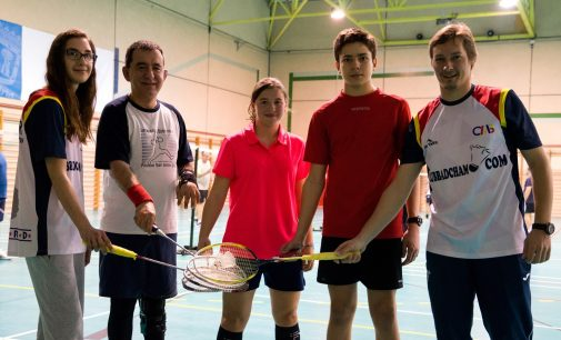 Bádminton, deporte inclusivo en nuestro distrito