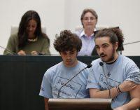 Los adolescentes de Hortaleza toman el Pleno de Madrid