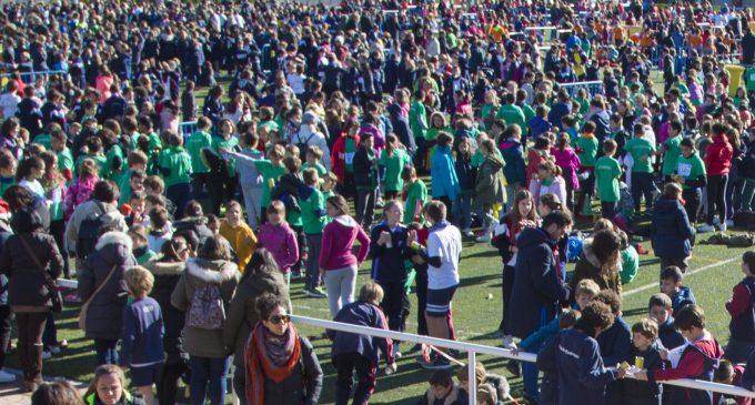 Casi 5.000 escolares en un Cross de récord