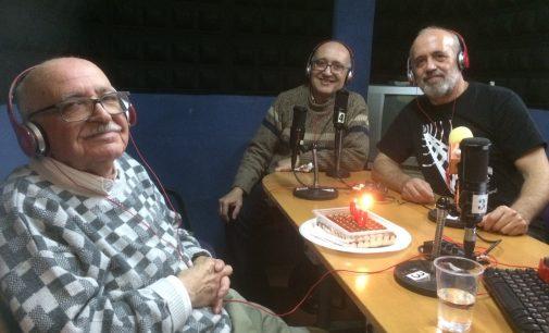 Homenaje a Valentín Huerta en el 107.5 de la FM