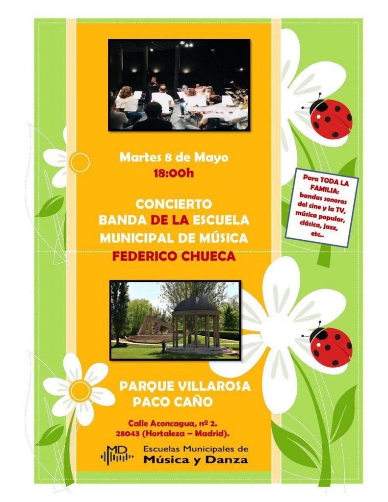 Concierto banda de la escuela municipal de m sica federico - Talleres cano madrid ...