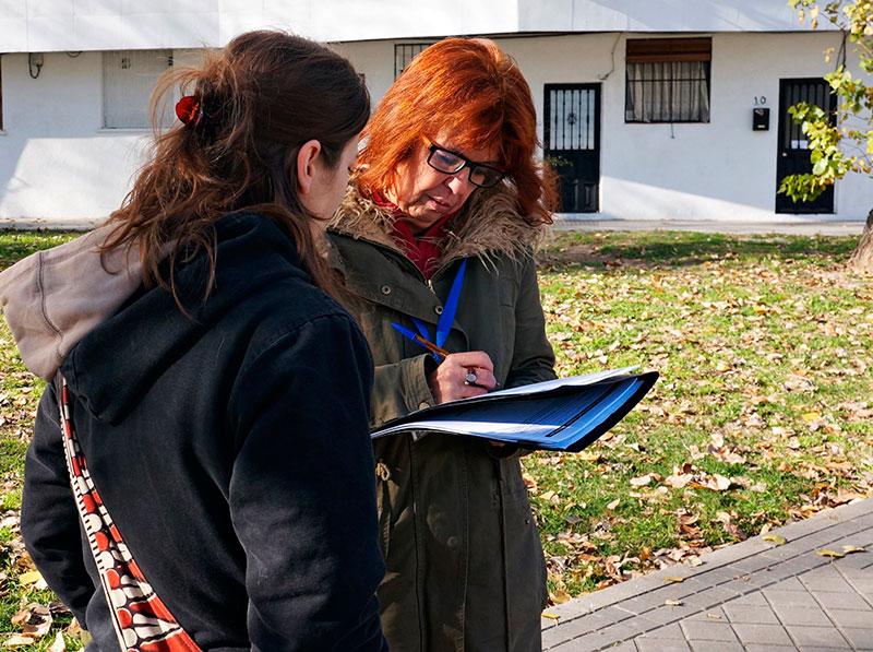 El barrio quiere descubrir a sus 'invisibles'
