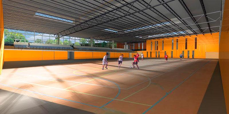 Valdebebas se 'busca' sus instalaciones deportivas