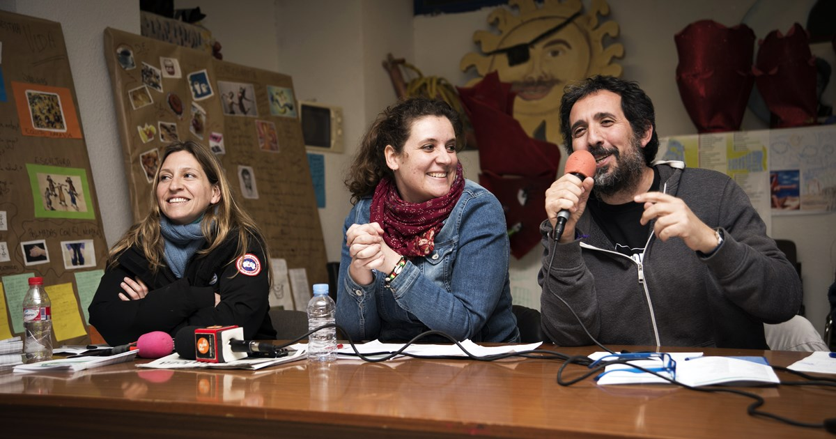 Escucha el debate de los candidatos del barrio a Ahora Madrid
