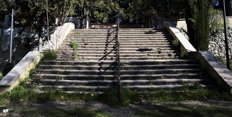 Los espacios verdes de Hortaleza se marchitan