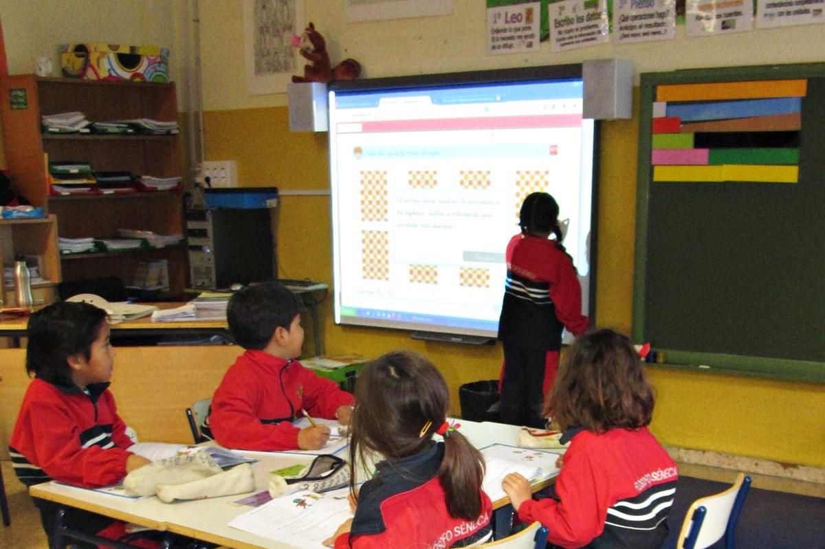 Un colegio público con reconocimiento europeo