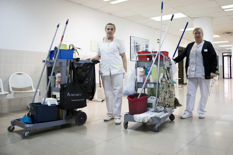 """Los recortes en limpieza provocan un """"riesgo sanitario"""" en los centros de salud"""