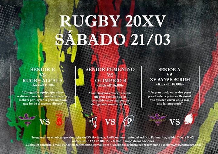 Rugby saturday