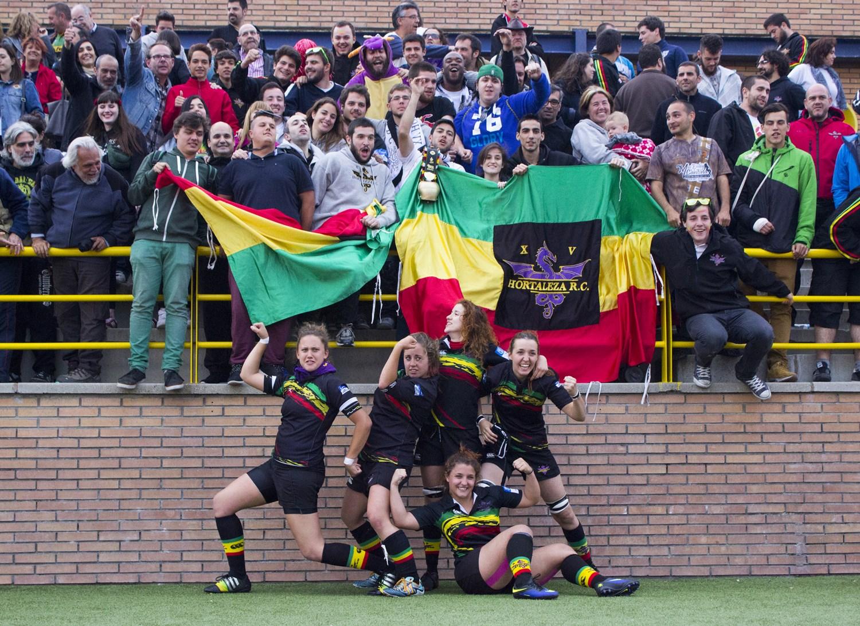 Las 'dragonas' del rugby son de División de Honor