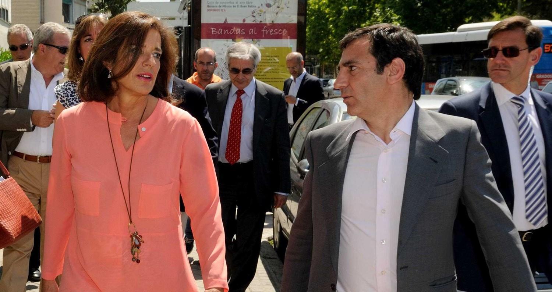 Esperanza Aguirre rescata a Ángel Donesteve