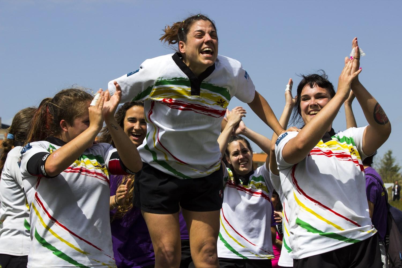 Las 'dragonas' del rugby darán el pregón de las Fiestas de Hortaleza 2016