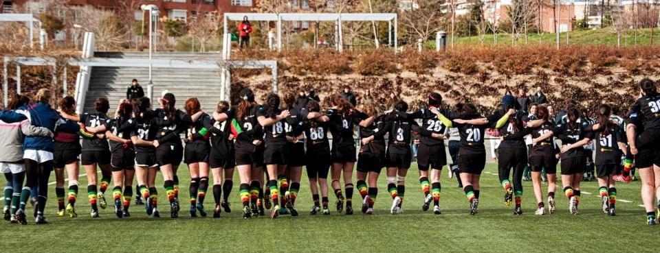 Las 'dragonas' del rugby, a por el ascenso