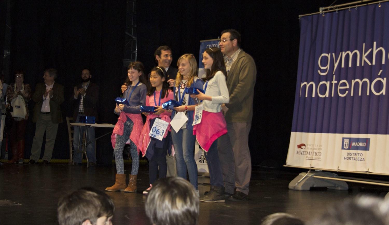 El colegio Garcilaso gana la 'gymkhana matemática'