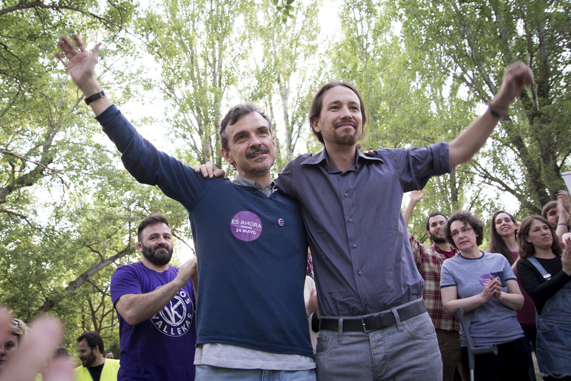 Podemos arranca su campaña electoral en Hortaleza