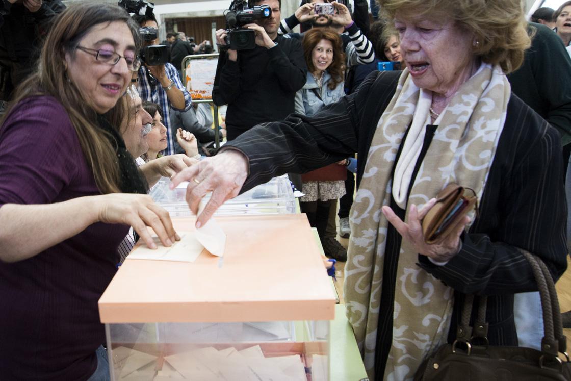 El PP gana en Hortaleza y pierde 10.000 votos mientras Ahora Madrid irrumpe con fuerza