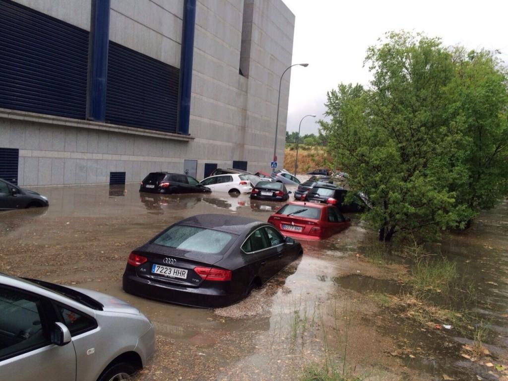 Inundación Hipercor 2