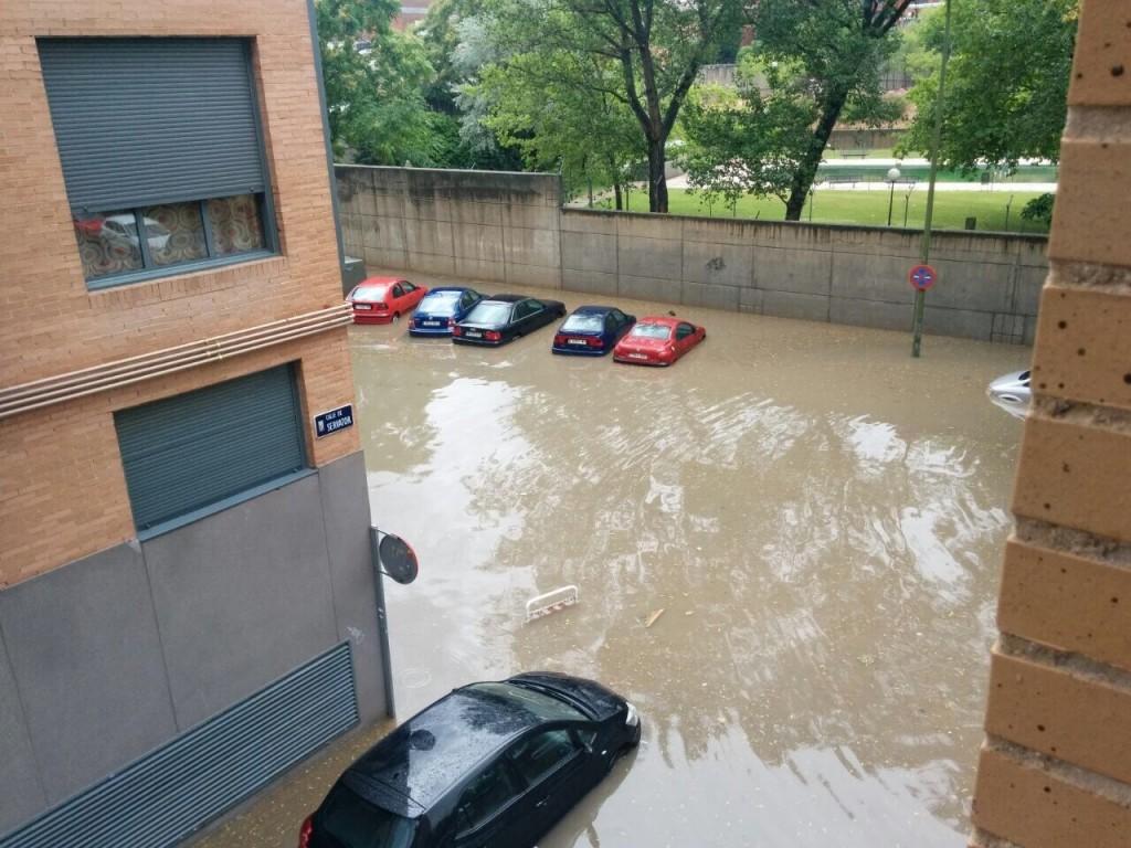 Inundación Servator