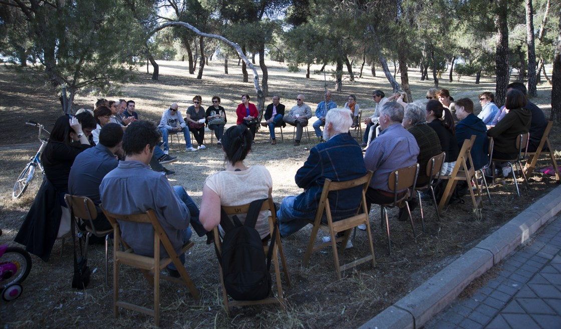 Hortaleza celebra su 'pleno ciudadano'