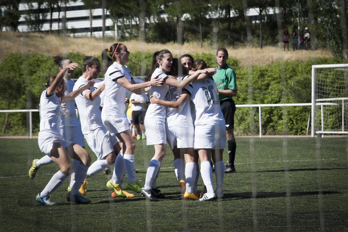 El Madrid femenino se queda a las puertas de primera