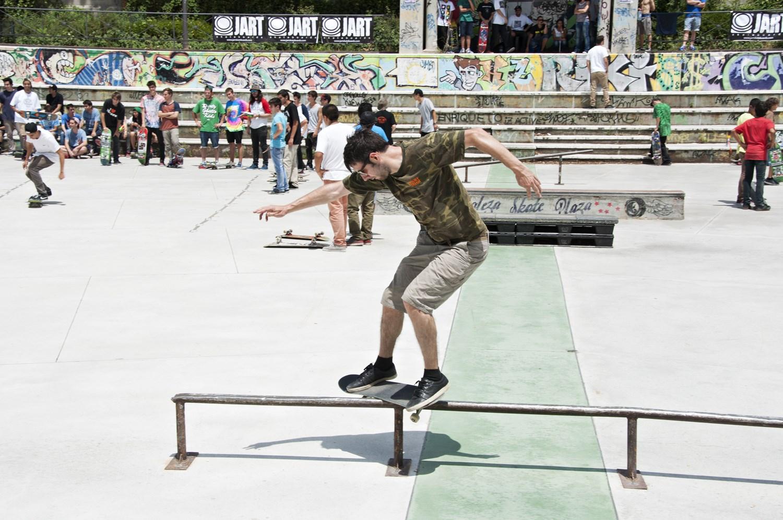 De Inglaterra a Hortaleza en 'skate'