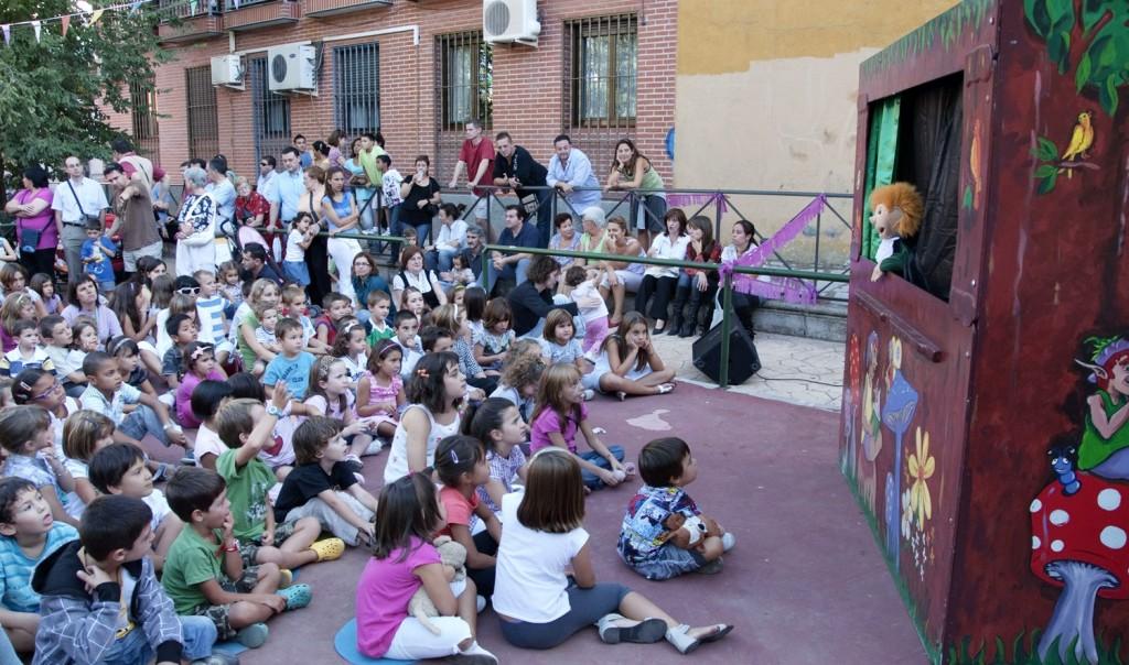 Guiñol fiestas pueblo Hortaleza