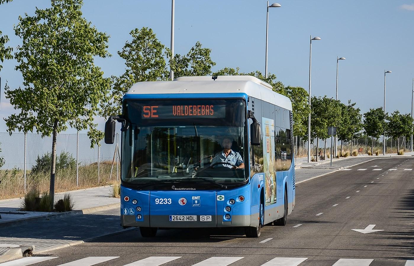 Valdebebas tendrá una línea regular de autobús