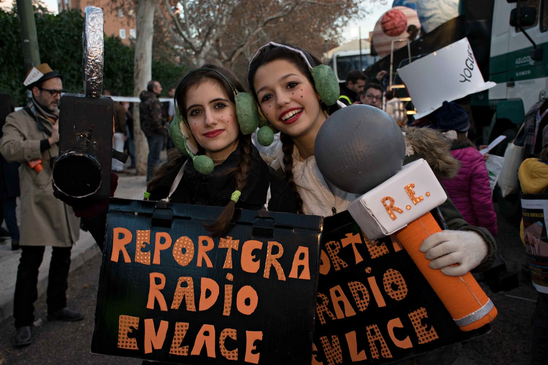 Radio Enlace transmite la Cabalgata Participativa de Hortaleza