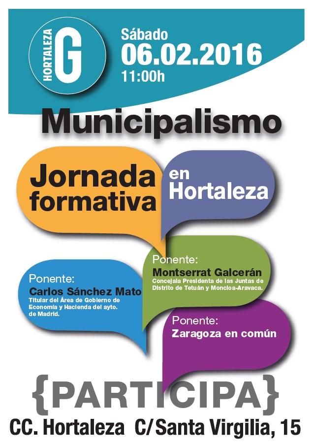 Jornada Municipalismo Hortaleza