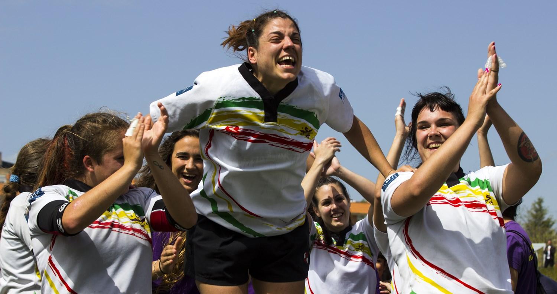La 'dragonas' del rugby debutan en primera