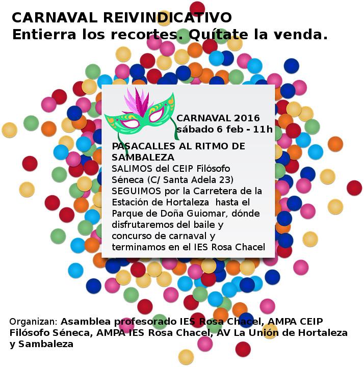 Carnaval Hortaleza 2016