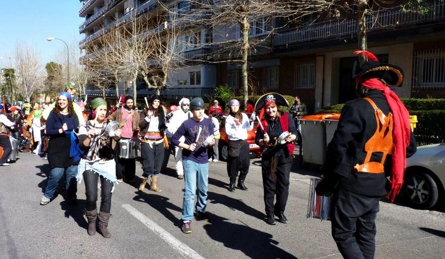 Hortaleza celebra su Carnaval reivindicativo