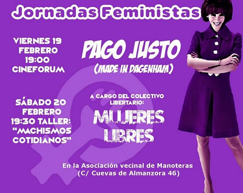 Jornadas Feministas Manoteras