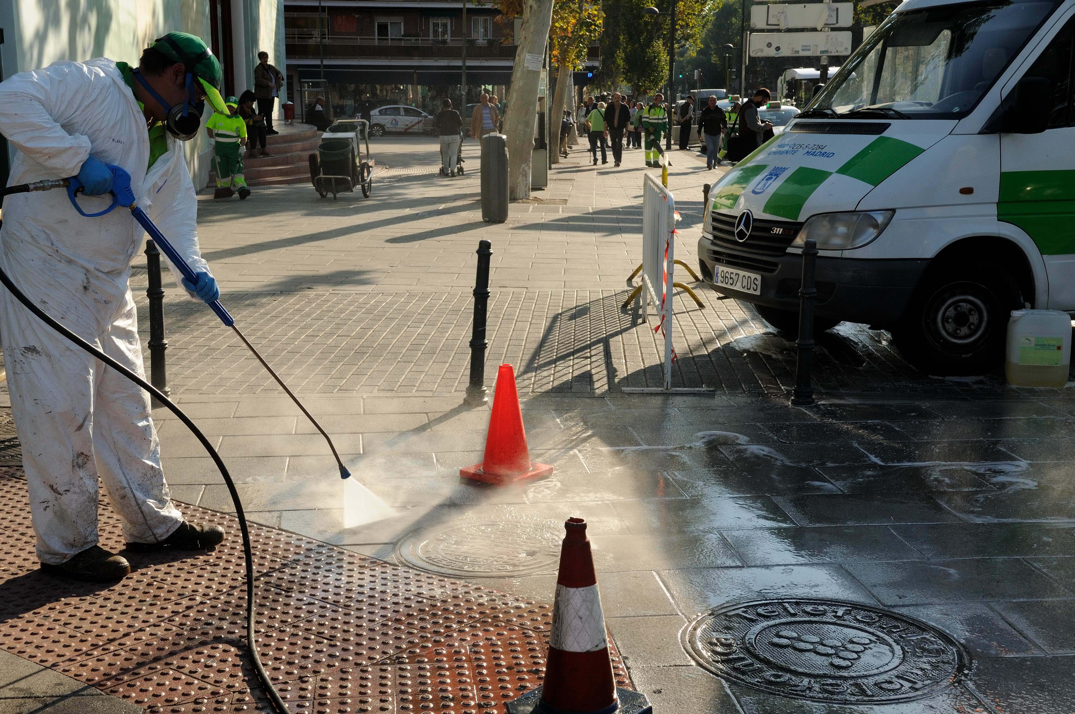 Limpieza intensiva en Hortaleza y Canillas
