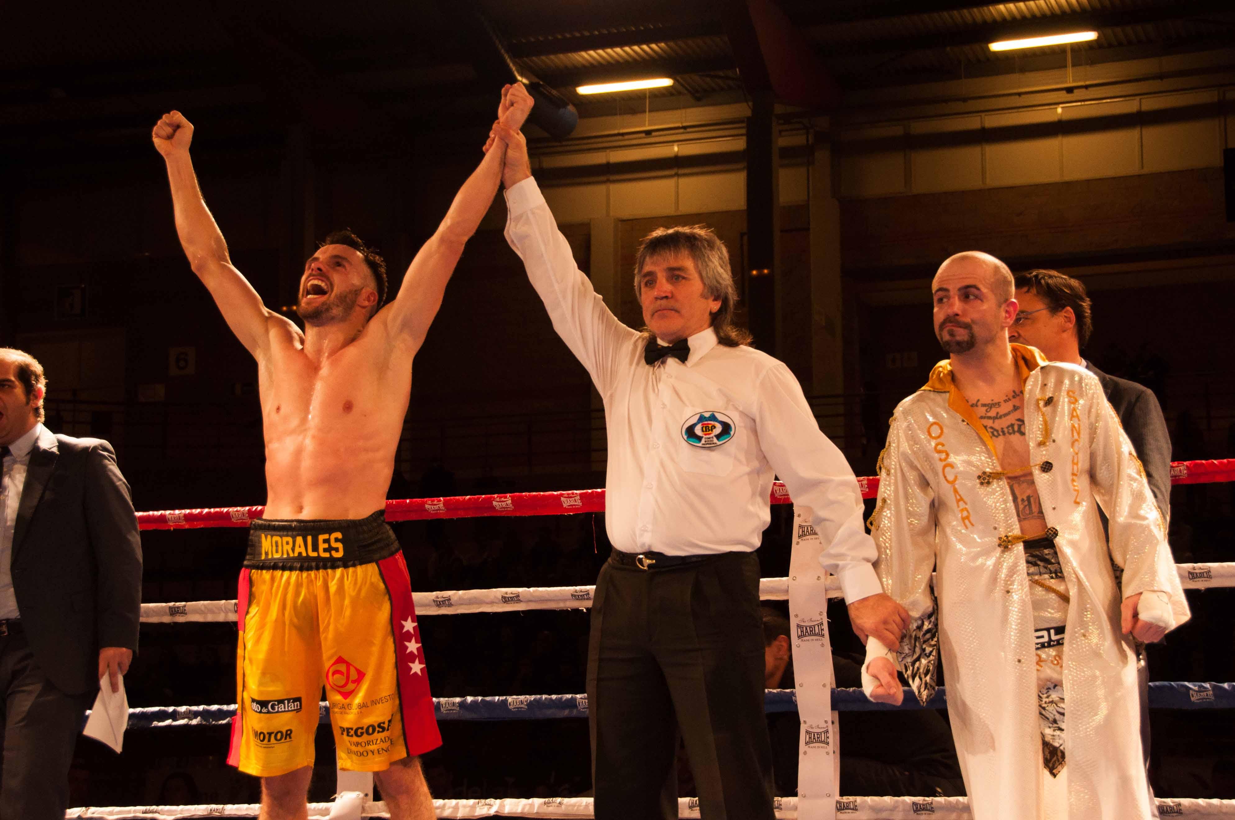 Morales de nuevo campeón de España