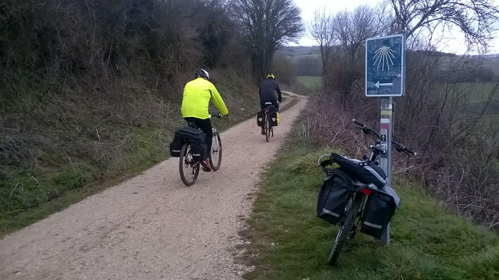 Crónica en bicicleta por el Camino de Santiago