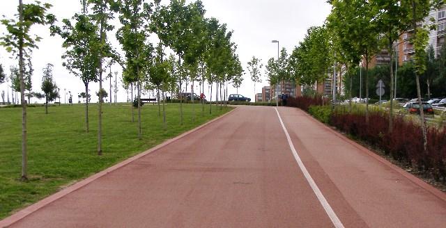 Un carril bici para la Gran Vía de Hortaleza