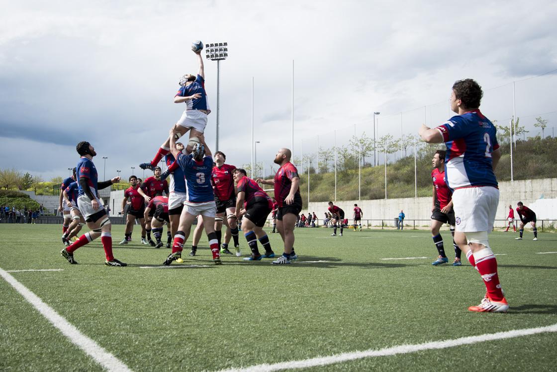 Primer derby oficial del rugby de Hortaleza