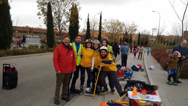 Sanchinarro tendrá una calle para patinar